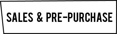 sales & prepurchase