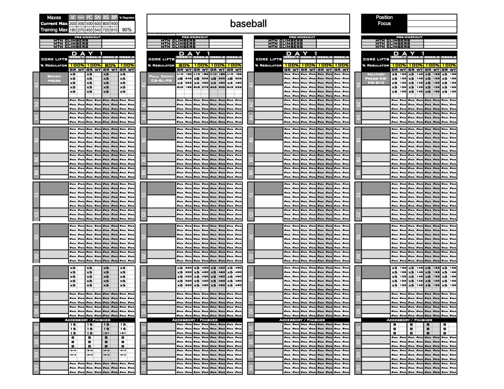 7 day work week schedule template - Romeo.landinez.co